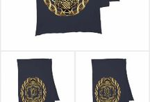 """Monograms Set 6 Scarf Party From Zazzle / The Cost of a single Design $100.00 to $500.00, Your cost """"FREE on Zazzle""""why? because you don't have to pay for my services! Created in Corel Draw X7 One of a kind design from Digital Art Expressions Theme party? Fundraising? Need Ideas? One-of-a-kind designs. Images Can not be sold, reproduced or distributed without written permission of W. Campitelle Copyright 2005-2016 Info E-Mail to splasvegas@cox.net subject Comment or Suggestion. Thank you For Viewing. Bill"""
