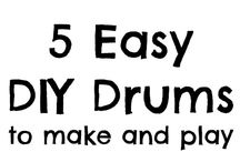 DIY musical instruments  / Join the band with these homemade instruments.
