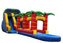 Water and Dry Slides