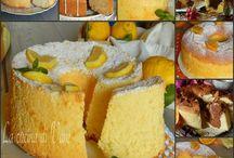 Chiffon cake raccolta