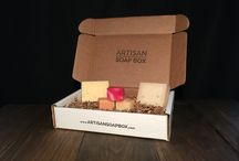 Artisan Soap Box / Artisan Soap Box monthly subscription service.