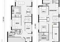 1bhk plan layout