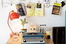 W O R K S P A C E / Inspiration to design your desk, home office or work area.