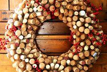 RECICLAR BOTELLAS Y CORCHOS (bottles and corks recycling)