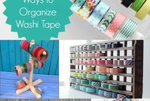 Craft Room Organization / Craft Room Organization Ideas and Tips!