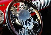 Hot Rods, Muscle Cars, Hearse cars