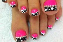 decoraciones de uñas de los pies
