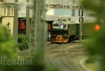 Beautiful Scandinavian model train Layout in HO gauge