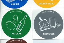 selektive Mülltrennung