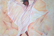 Óleo sobre tela....pintados por Bea Iglesias...contacto......Facebook..........BeaArte Cuadros y Mandalas