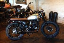 Vintage motorcykl 125cc / Motorcykl 125