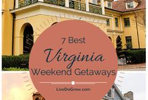 Places to Go in VA / inspiring and fun places to visit in Virginia
