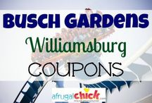 Busch Gardens Williamsburg / Busch Gardens Williamsburg Coupons, Discounts at Busch Gardens Williamsburg, Tips and Tricks for Busch Gardens Williamsburg / by afrugalchick