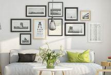 obrazky v interieru