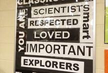classroom bulletin boards & events