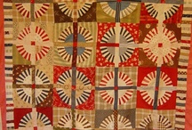 Wagon wheel quilts