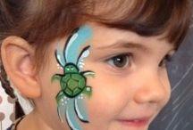 Cheek and Eye Designs