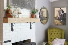 living room remodel / by Amanda Rydell
