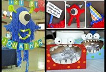 Ryan's Monster First Birthday Party ideas / im planning a monster themed first birthday party for my litle boy and have come here in search of more ideas