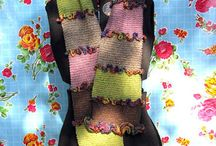 Creative - Knitting - Scarves / Scarves I would like to make, some for inspiration / by Lee Turley