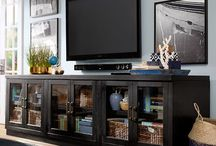 Komoda obývací prostor