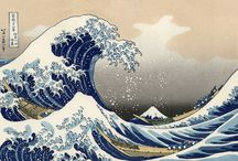 The great wave of kanagawa art