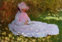 Monet Classic Painting - Maid