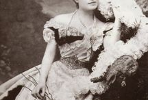 Infanta Eulalia / Her Royal Highness The Duchess of Galliera (1864-1958) née Her Royal Highness Infanta Eulalia of Spain