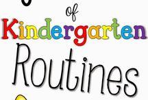 Kindergarten Routines