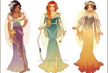 Chicas Disney