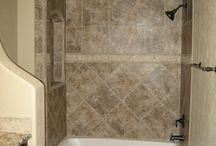 Bathroom remodel  / by Misty Hawkins Turner