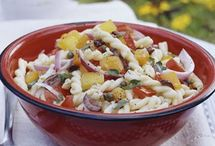 Salads include .. Pasta .. Green etc / Any Summer mixed Salads