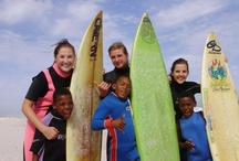 Volunteer in South Africa /  International Volunteer HQ has a wide range of highly affordable volunteering opportunities available in surf outreach, orphanage/childcare work, sports development, computer training and teaching in the coastal city of Cape Town. / by International Volunteer HQ