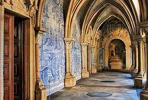 Klöster Monastery Kloster / Klöster und Abteien, Mönche und Klosterschwestern
