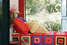 Croche, Tricot & Tecidinhos / Muitas cores e estilos...