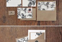 moooi wedding stationery inspiration / beautiful wedding stationery ideas