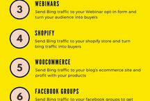 Traffic Strategies / How to get traffic to your website or blog. Different strategies you can use to get traffic to your website, blog or affiliate offers.