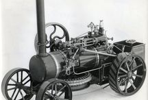 Special Ploughing and digging engines