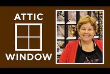 Artic window sewing