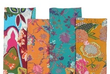 fabrics and linens / by April Mosher-Chapman