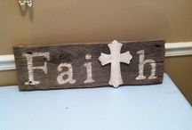 Barnwood creation ideas