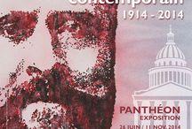 """Exposition au Panthéon / Exposition au Panthéon """"Jaurès contemporain 1914 - 2014"""""""