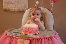 Lilah's 1st birthday