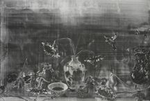 still life sequence / new works in graphite on paper 2016 -