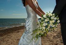 Wedding Flowers - Blues