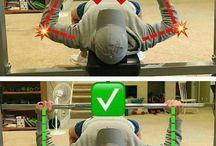Bon positionnement muscu