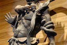 Japonské buddhistické sochy