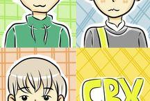 EXO Fanart / Fanart EXO by me :3