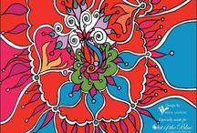 Designs by Irini Varda / Hand-painted designs by Irini Varda, email: ivarda@capsis.gr, Athens, Greece