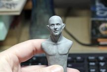My Tutorials / My tutorials about sculpting and painting polymerclay sculptures